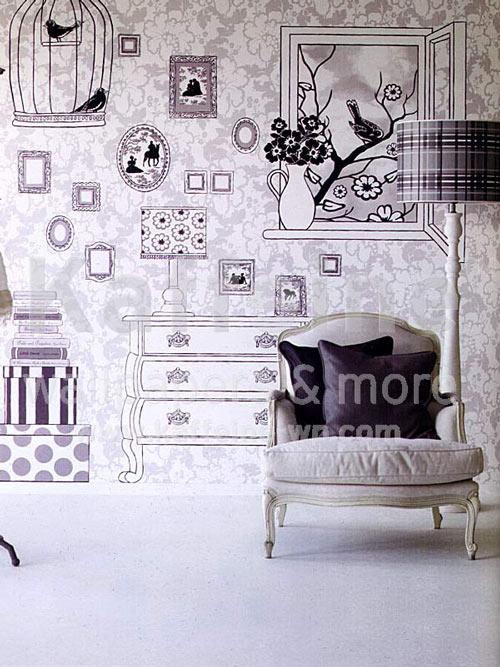 Mural de papel original