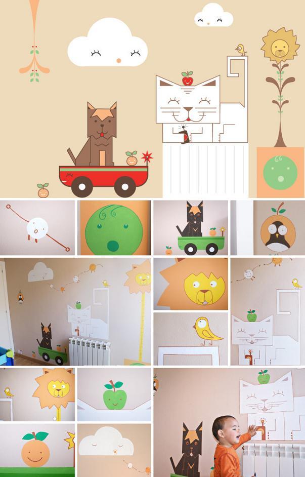 Mural personalizado para la habitación de tu bebé