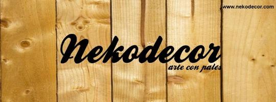 Nekodecor, arte con palés