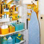 Organizar los productos de limpieza