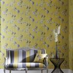 Papeles pintados y coordinados textiles Delphine