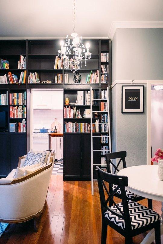 Un pequeño apartameto muy elegante