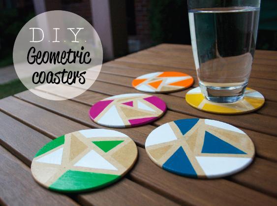 Ideas Diy Decoracion Hogar ~ DIY Geometric  Decoraci?n Hogar, Ideas y Cosas Bonitas para Decorar