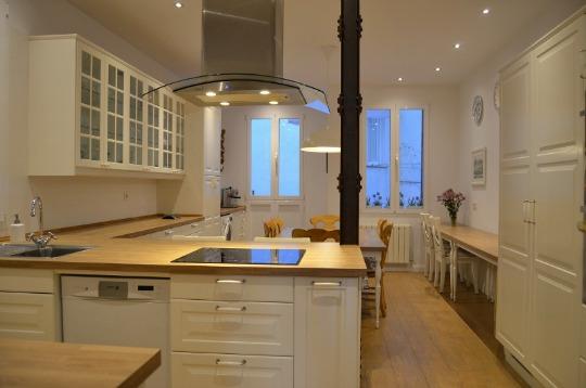 Decoracion cocinas for Cocinas bonitas blancas