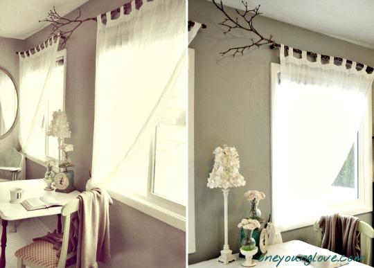 Cortinas De Baño Primark:la cortina de una rama