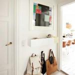 Como decorar un recibidor muy pequeño