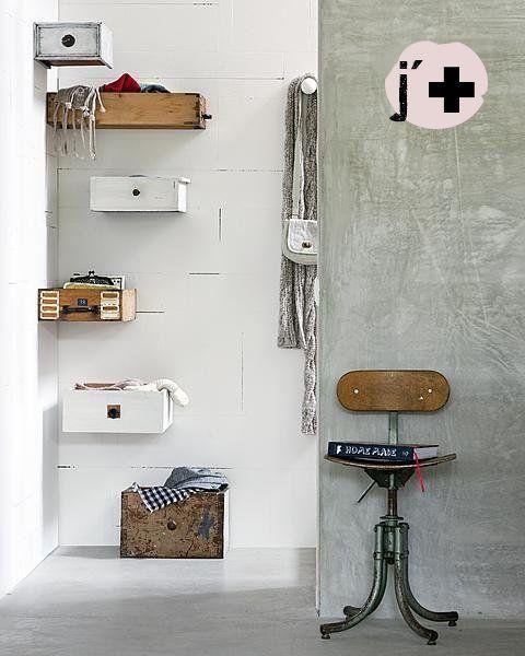 Decorar Un Baño Reciclando:Upcycling Old Drawers