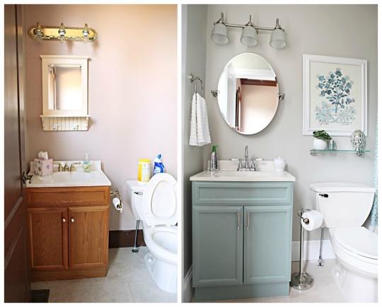 Renovar baño pequeno ~ dikidu.com