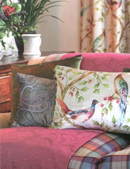 Sara Rota Home textiles para decorar