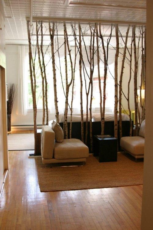 Separar ambientes con ramas