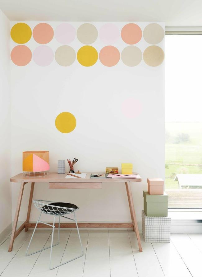 Hazlo tú mismo: pintura de estilo confeti