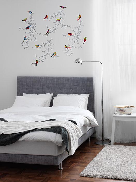 Vinilos Decoracion Ikea ~ Inspiraci?n vinilo ramas con p?jaros Ikea  Decoraci?n Hogar, Ideas