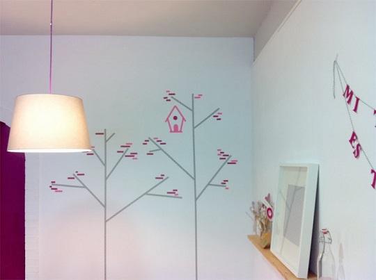 Decoracion Infantil Washi Tape ~ Ideas de decoraci?n infantil con washi tape  Decoraci?n Hogar