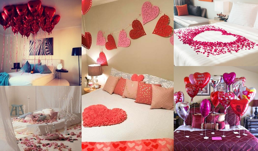 11 ideas para decorar el dormitorio en san valent n for Ideas para decorar un cuarto de pareja