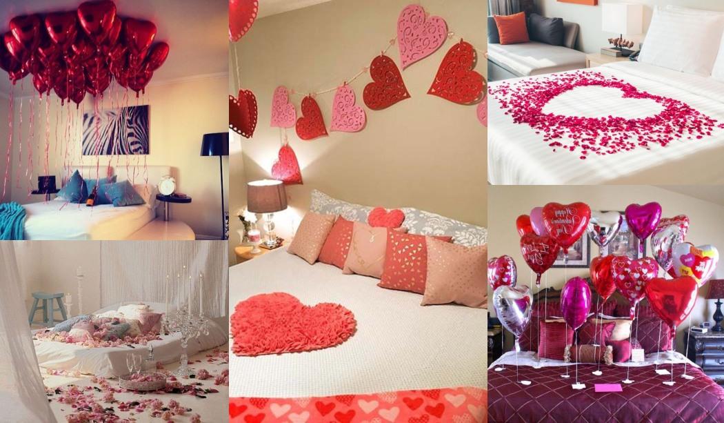 11 Ideas para decorar el dormitorio en San Valentín