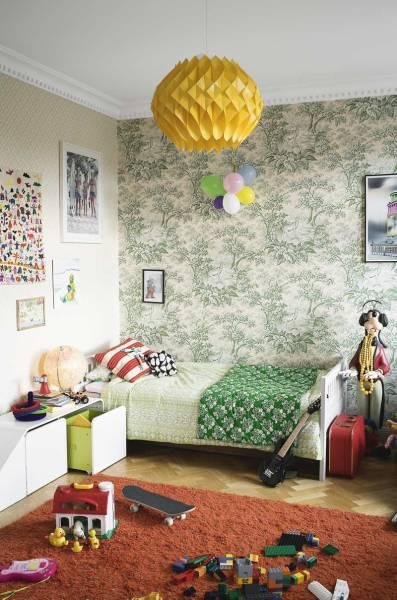 Habitación infantil vintage-1