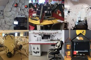 16 Originales ideas para decorar la oficina en Halloween