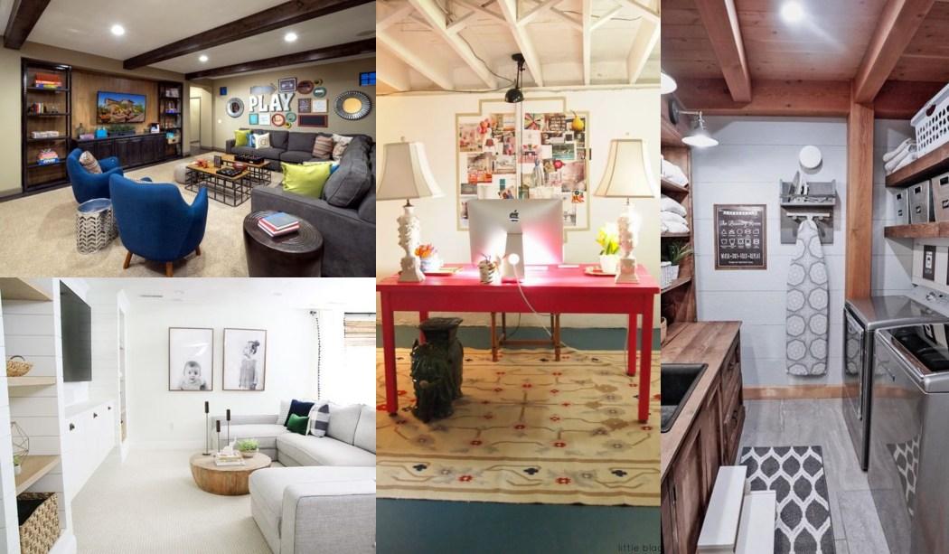 22 Sótanos reformados - Ideas para remodelar tu sótano