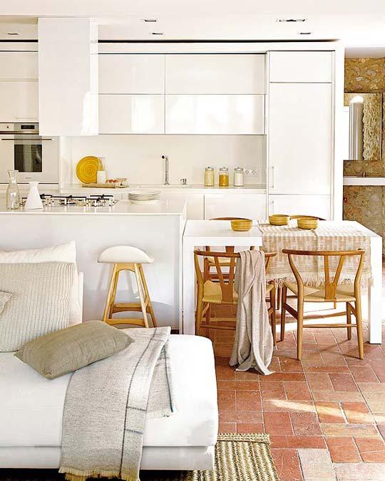 vivienda antigua reformada. Black Bedroom Furniture Sets. Home Design Ideas