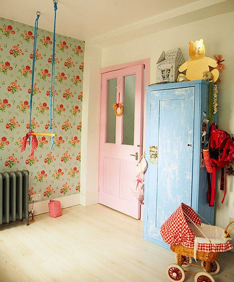 Habitación infantil vintage-3