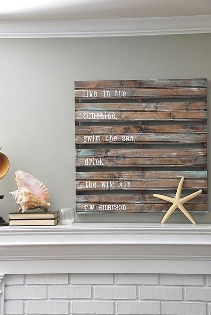 Decorfa tus paredes con palets reciclados