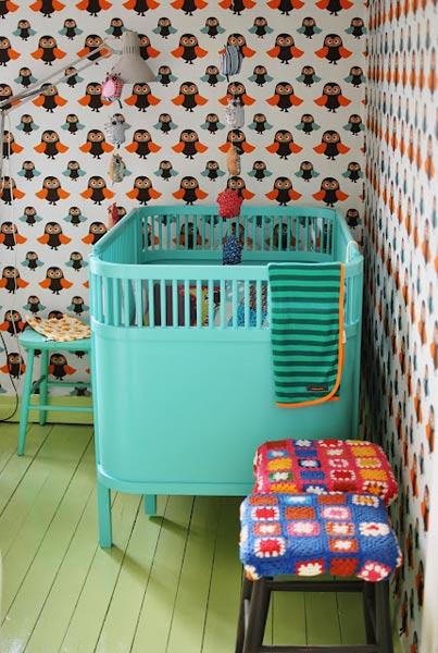 Habitación infantil vintage-6