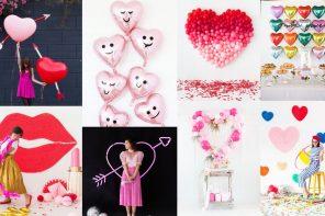 Arreglos con globos San Valentín