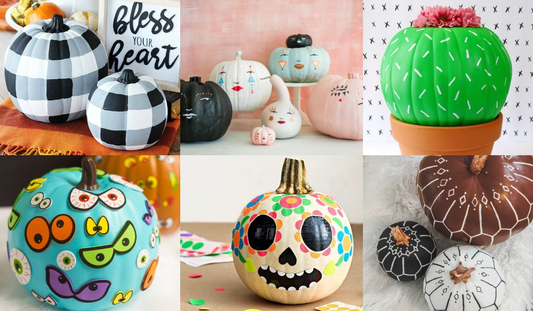 Cómo decorar calabazas para Halloween (34 Ideas)