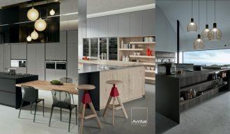 Cocinas de diseño italiano Arrital