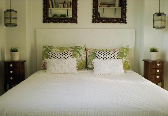 Estilo colonial renovado para el dormitorio - Dormitorio estilo colonial ...