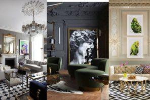 Decoración de salones clásicos inspiración (20 FOTOS)