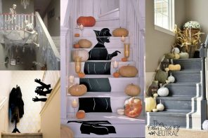 Decoración escaleras Halloween – 14 ideas originales