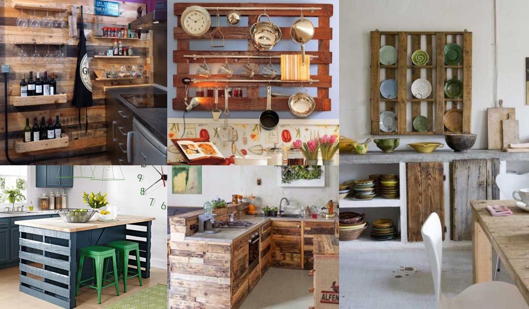 Decorar Cocinas Con Palets Reciclados Muchas Ideas