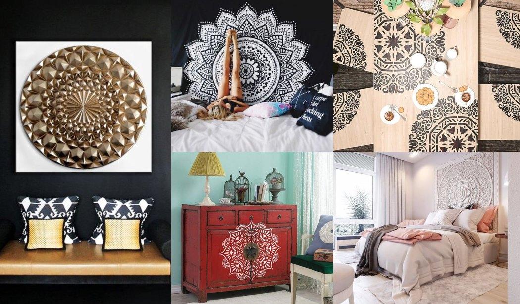 Decorar con mandalas muchas ideas para el hogar - Ideas para el hogar ...