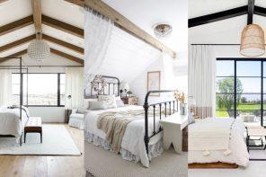 Dormitorios abuhardillados muy acogedores (30 FOTOS)
