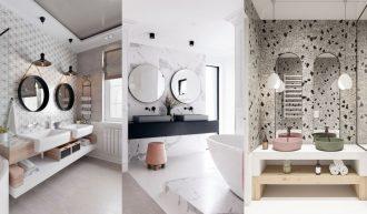 Ideas para baños con dos lavabos y baños compartidos