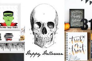 16 Láminas Halloween para imprimir ¡GRATIS!