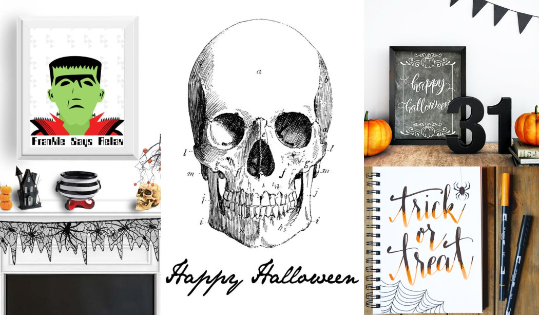 Láminas Halloween para imprimir ¡GRATIS!