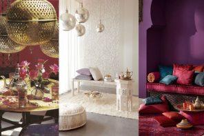 Salón de té Marroquí Decoración y  Juegos de té