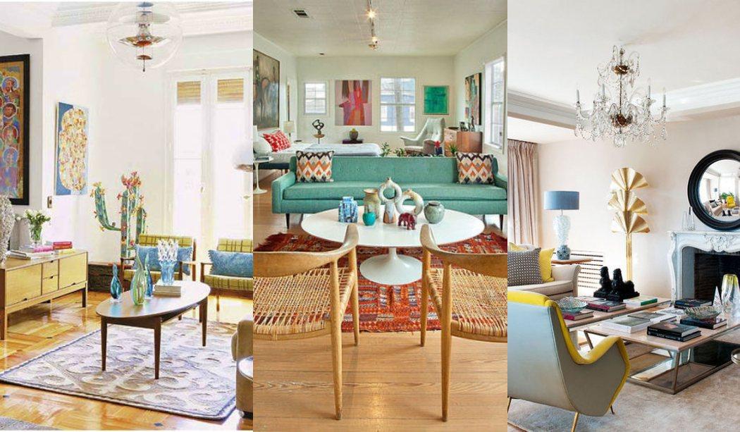 ¿Te gustaría tener un salón vintage? Todas las claves, ideas y fotos