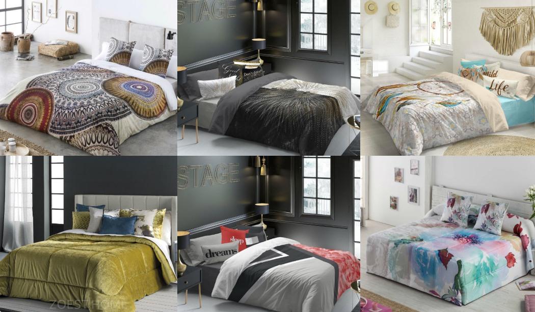 Vestir el dormitorio en invierno con ropa de cama moderna