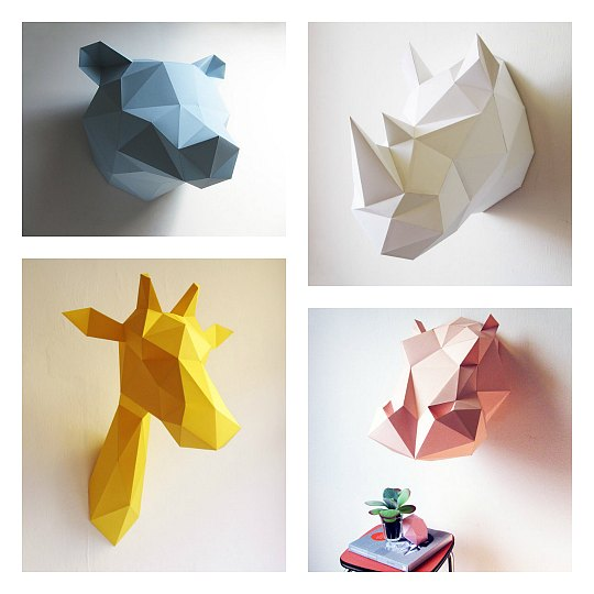 animales-papel-diy