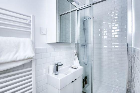 Baño apartamento pequeño 20 m2
