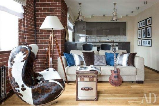 Apartamento de soltero de 38 metros cuadrados for Diseno de apartamento de soltero