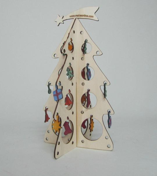 rbol de navidad de madera - Arbol De Navidad De Madera