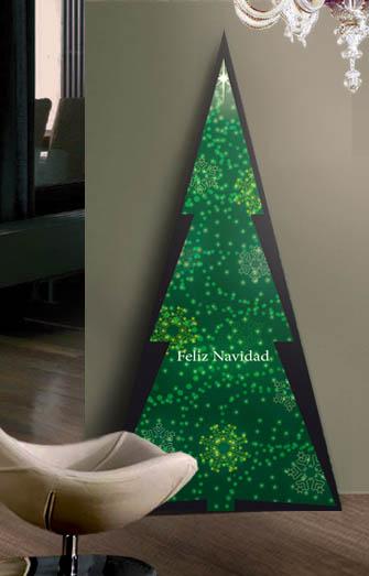 Decoracion locales comerciales ideas y fotos locales - Originales arboles de navidad ...