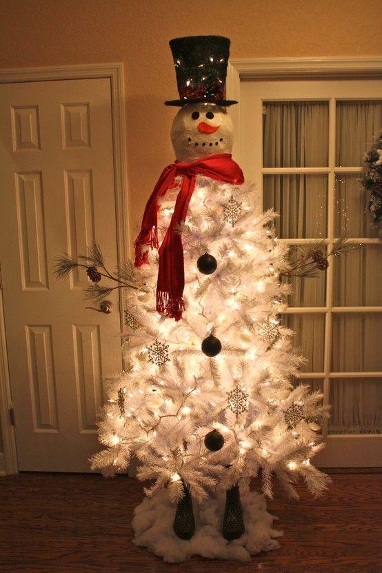 Árbol de Navidad muñeco de nieve