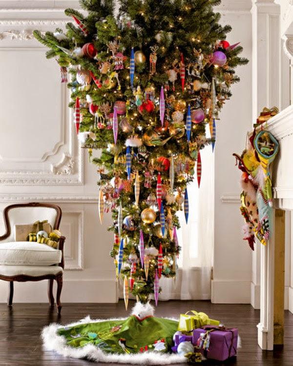 Árbol de Navidad invertido