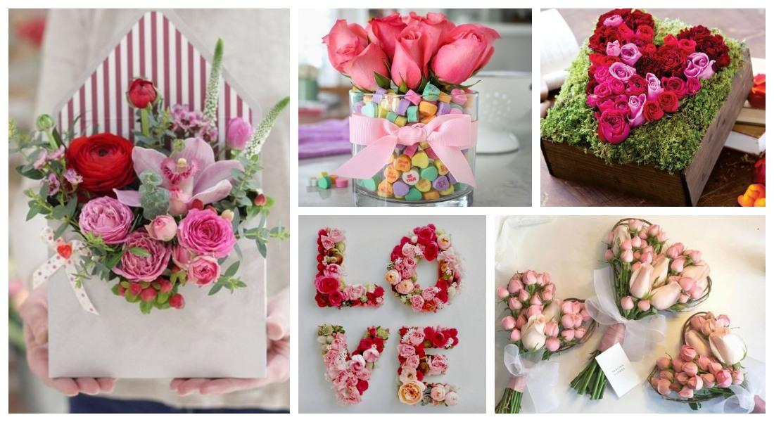 Arreglos florales San Valentín