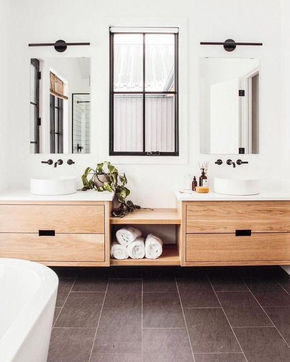 Ideas para baños compartidos